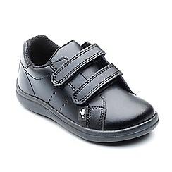 Chipmunks - Boys' black 'Taylor' school shoe in leather