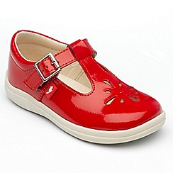 Chipmunks - Girls 'Trixie' red patent leather shoes