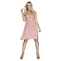 Little Mistress - Apricot prom dress