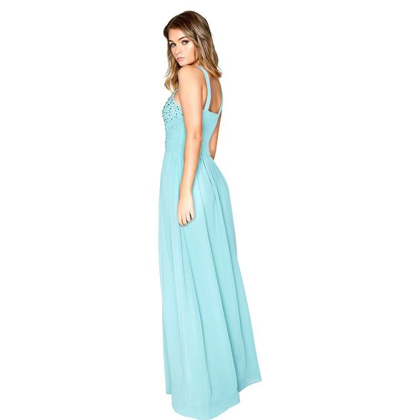 dress Marine maxi pearl Little Mistress g8qPII