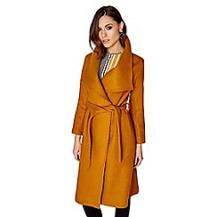 Girls On Film - Mustard coat