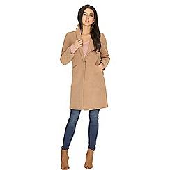 Girls On Film - Camel coat