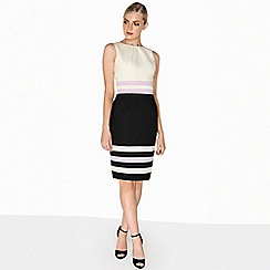 Paper Dolls - Stripe hem dress