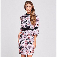 Paper Dolls - Dusky floral dress