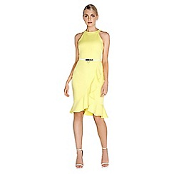 Paper Dolls - Lemon frill dress