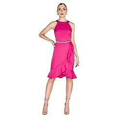 Paper Dolls - Pink frill dress