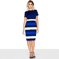 Paper Dolls - Navy panel dress