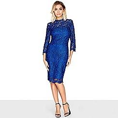 Paper Dolls - Blue lace dress