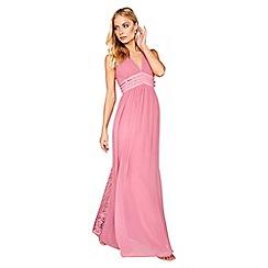 Little Mistress - Pink maxi dress