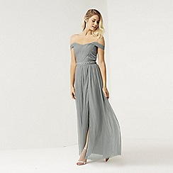 Little Mistress - Waterlily jewel waist maxi