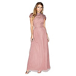Little Mistress - Elderberry maxi dress