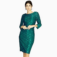 Paper Dolls - Green visby long sleeve lace dress