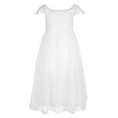 Monsoon - Girls' white estella dress