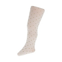 Monsoon - Baby girls' white flower lace tights