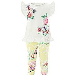 Monsoon - Yellow new born baby girls 'Sunshine' set