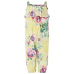Monsoon - Yellow new born baby girls 'Sunshine' romper