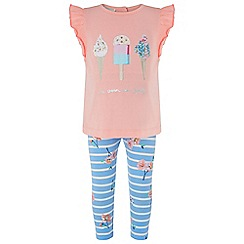 Monsoon - Baby girls' pink 'Lolly' set