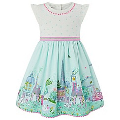 Monsoon - Baby girls' white 'Lola London' dress
