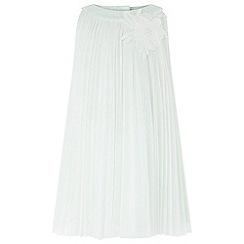 Monsoon - Baby girls' green 'Delores' Dress