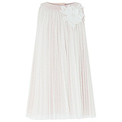 Monsoon - Baby girls' pink 'Delores' Dress