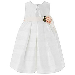 Monsoon - Baby girls' white 'Elowen' dress