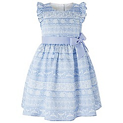 Monsoon - Blue baby 'Beatrice bee' dress