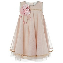 Monsoon - Pink baby 'Dragonfly' dress