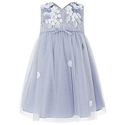 Monsoon - Blue baby 'Lilly' dress
