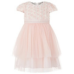 Monsoon - Orange baby rosebud dress
