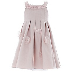 Monsoon - Baby girls' pink 'Kali Rose' dress