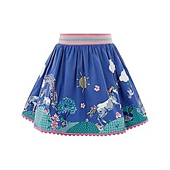 Monsoon - Girls' Blue Meadow Skirt