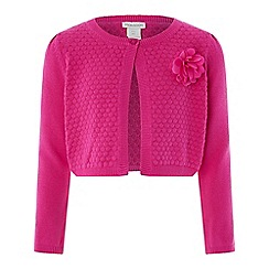 Monsoon - Girls' Pink 'Petunia' Cardigan