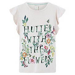 Monsoon - Girls' pink 'Flutter' t-shirt