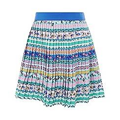 Monsoon - Girls' multicoloured 'Lucienne' pleat skirt