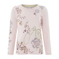 Monsoon - Girls' pink 'Enchanted' top