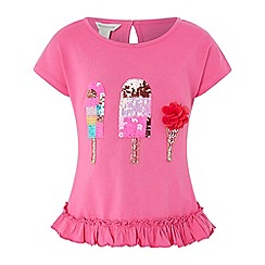 Monsoon - Pink 'Evie' ice cream top