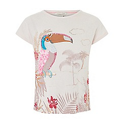 Monsoon - Pink 'Tiki' toucan top