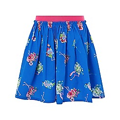 Monsoon - Blue 'Finella' flamingo skirt