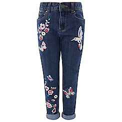 Monsoon - Girls' blue 'Roella' jeans