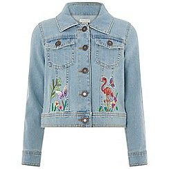 Monsoon - Blue 'Laelia' denim Jacket