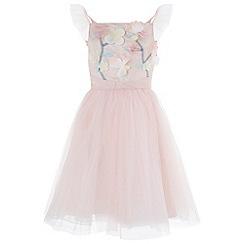 Monsoon - Girls' Pink 'Fleur' Dress