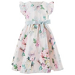 Monsoon - Girls' multicoloured 'Alexis' AOP dress