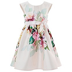 Monsoon - Girls' Multicoloured 'Alexis' Placement Print Dress