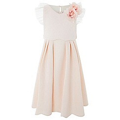 Monsoon - Girls' orange 'Floraela' dress
