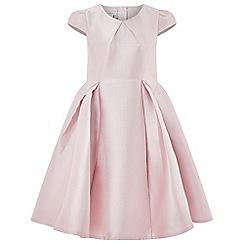 Monsoon - Girls' pink 'Yumiko' plain Duchess dress