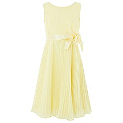 Monsoon - Girls' Yellow 'Keita' Dress