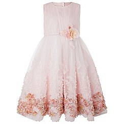 Monsoon - Girls' pink 'Wisteria' dress