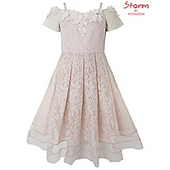 Monsoon - Girls' pink 'Storm Arizona' dress
