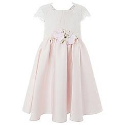 Monsoon - Girls' pink 'Mackenzie' dress