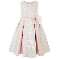 Monsoon - Girls' Pink 'Fleur' Sparkle Dress